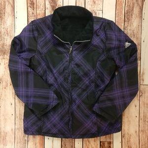 ZeroXposur Jackets & Coats - ZeroXposur Reversible Jacket Purple Plaid Design!